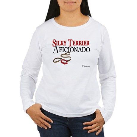 Silky Terrier Aficionado Women's Long Sleeve T-Shi