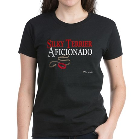 Silky Terrier Aficionado Women's Dark T-Shirt