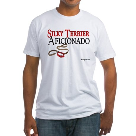 Silky Terrier Aficionado Fitted T-Shirt