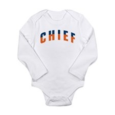 CHIEF Long Sleeve Infant Bodysuit