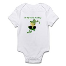 First St. Pat's Day Infant Creeper