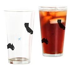 whateverhappenedGRAY Drinking Glass