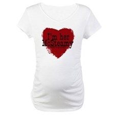 3-her McSteamy copy Maternity T-Shirt