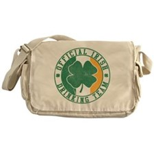 Official Irish Drinking Team Messenger Bag