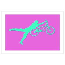 PINK GREEN BMX