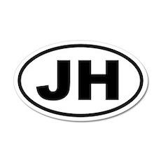 Jackson Hole JH 20x12 Oval Wall Peel