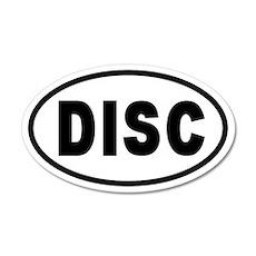 Basic DISC 20x12 Oval Wall Peel