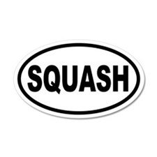 Basic Squash 35x21 Oval Wall Peel