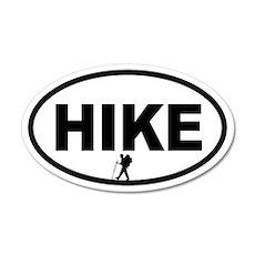 Hiker 20x12 Oval Wall Peel