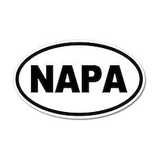 Napa Valley 35x21 Oval Wall Peel