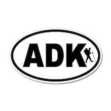 Adirondack ADK Hiker 35x21 Oval Wall Peel