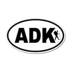 Adirondack ADK Hiker 20x12 Oval Wall Peel