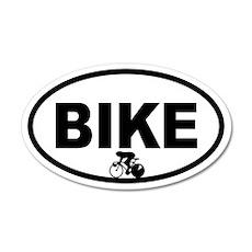 Cycling Racer 20x12 Oval Wall Peel