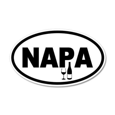 Napa Valley 20x12 Oval Wall Peel