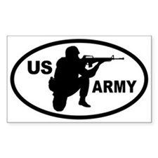 US ARMY Soldier Oval Decal