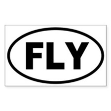 Basic Flying Oval Decal