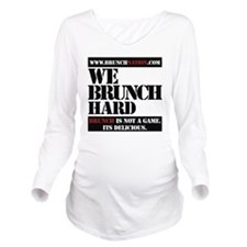 brunchnation Long Sleeve Maternity T-Shirt