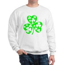 irish clover5 Sweatshirt