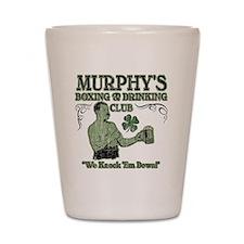 murphys club Shot Glass