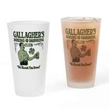 gallaghers club Drinking Glass