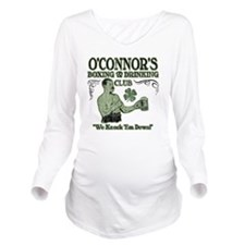 oconnors club Long Sleeve Maternity T-Shirt