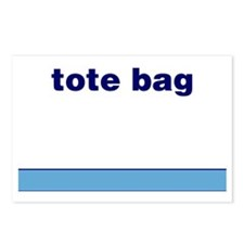Generic-Tote-Bag Postcards (Package of 8)