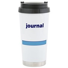 Generic-Journal Ceramic Travel Mug