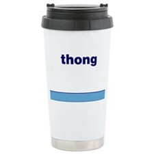 Generic-Thong Ceramic Travel Mug