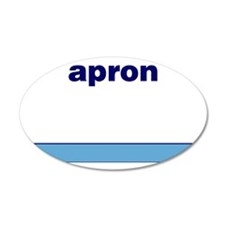Generic-Apron Wall Decal