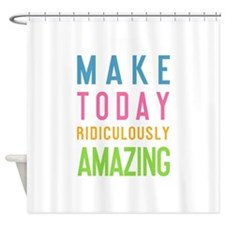 Cute Fitted Shower Curtain