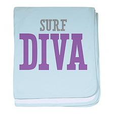 Surf DIVA baby blanket