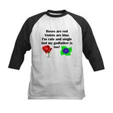 Cute And Single Godfather Poem Baseball Jersey