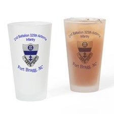 2nd 325th abn inf Drinking Glass