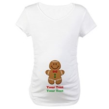 Personalize Little Gingerbread Man Shirt