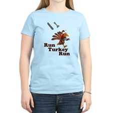 Run Turkey Run Thanksgiving T-Shirt