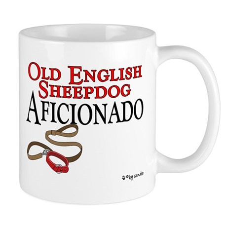 Old English Sheepdog Aficionado Mug