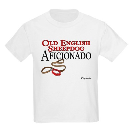 Old English Sheepdog Aficionado Kids T-Shirt
