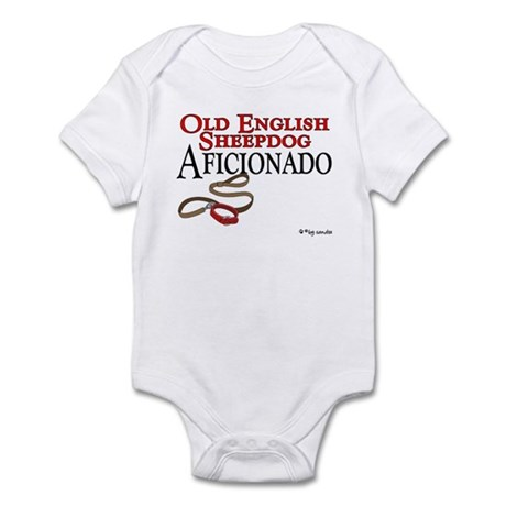 Old English Sheepdog Aficionado Infant Bodysuit