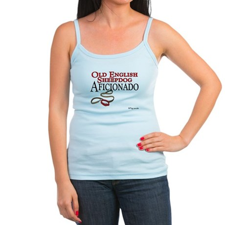 Old English Sheepdog Aficionado Jr. Spaghetti Tank