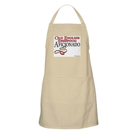 Old English Sheepdog Aficionado BBQ Apron