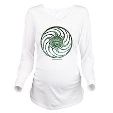 Casino logo Long Sleeve Maternity T-Shirt