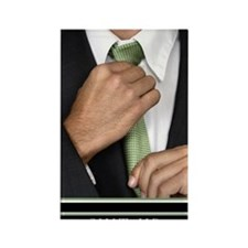23x35_suit-up_v Rectangle Magnet