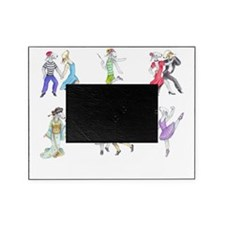 Shirts-Dark-Dancing Bedlies3 Picture Frame
