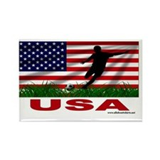 usa rectangle sticker Rectangle Magnet