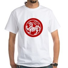 MA Shotokan tiger - stitch red T-Shirt