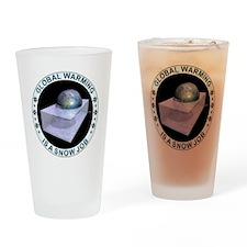 feb_snow_job Drinking Glass