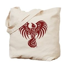 Large Red Phoenix Logo Tote Bag