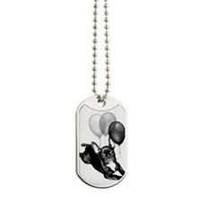 Party French bulldog Dog Tags