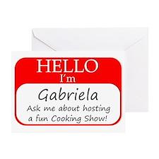Gabriela Greeting Card