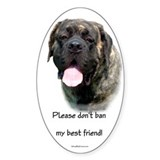 Mastiff BSL 3 Oval Decal